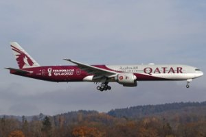 PRÉ- VENDA Phoenix 1:400 Qatar Airways Boeing B777-300ER FIFA World Cup 2022
