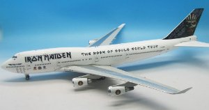 Inflight200 1:200 Iron Maiden Boeing 747-400
