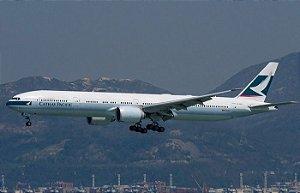 PRÉ- VENDA Phoenix 1:400 Cathay Pacific Boeing 777-300ER