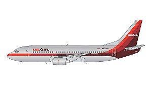 PRÉ-VENDA  - Gemini Jets 1:400 USAir Boeing 737-300