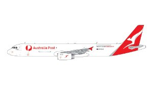 PRE-VENDA - Gemini Jets 1:400 Qantas Freight/Australian Post Airbus A321PSF