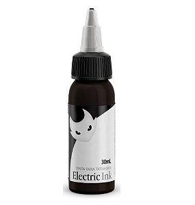 Tinta Para Tatuagem Electric Ink 30ml - Preto Maori