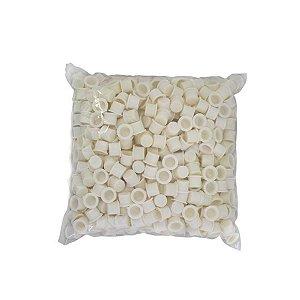 Pacote de Batoques Branco 500 unid.