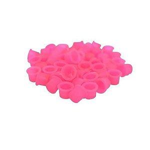 Pacote de Batoque Rosa 50 unid.