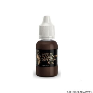 Chocolate Marrom Intenso Electric Ink - 15ml