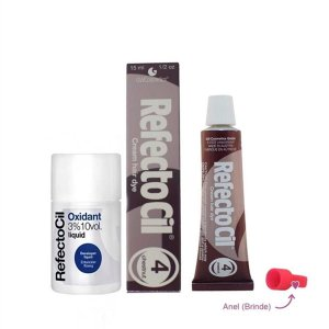 Kit Refectocil Acaju 4.0 + Oxidante 100ml