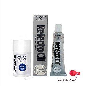 Kit Refectocil Grafite 1.1 + Oxidante 100ml