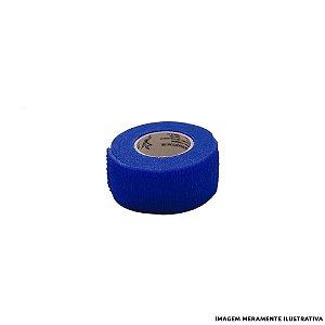 Fita Elástica Antiderrapante Azul 2,5cm