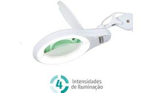 kit Lupa Led Tripe Completa C/ 1- Bandeja - Autovolt - HL - 410 LED DIMMER 5D