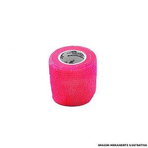 Fita Elástica Antiderrapante Pink 5,0 cm