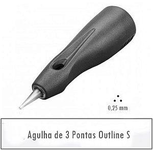 Agulha de 3 Pontas Outline S - Linelle II E0430