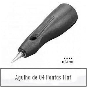 Agulha de 4 Pontas Flat S - Linelle II E0404