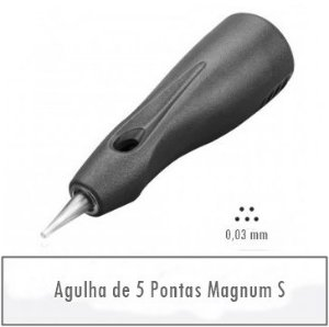 Agulha de 5 Pontas Magnum S - Linelle II E0405M