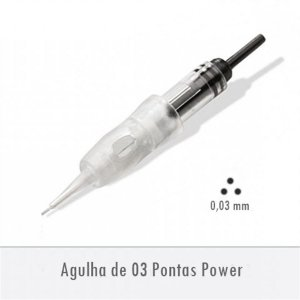 Agulha de 03 Pontas Power - Supreme E0253PA