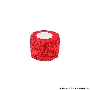 Fita Elástica Antiderrapante Vermelha 5,0cm