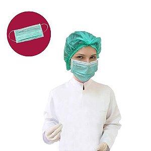 Caixa de Máscara Verde 50 unid. - ProtDesc