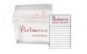 Caixa de Cílios Lash Box C/ 2 Ficha de Acrílico - Belmove