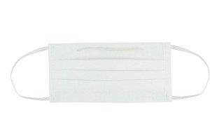 Pacote de Máscara Dupla Branca 10 Unidades - Não estéril