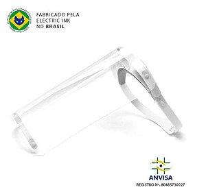 Máscara Face Shield - Protector Shield Electric Ink - Branco
