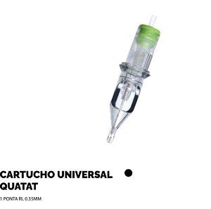 Cartucho Universal Quatat  01 ponta RL 035mm