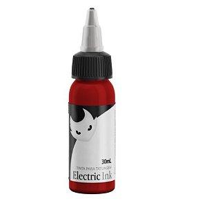 Tinta Para Tatuagem Electric Ink 30ml - Vermelho Ferrari