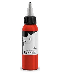 Tinta Para Tatuagem Electric Ink 60ml - Laranja Real