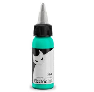 Tinta Para Tatuagem Electric Ink 30ml - Verde Água