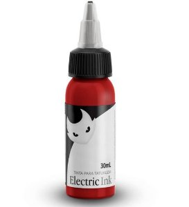 Tinta Para Tatuagem Electric Ink 30ml - Vermelho Cereja