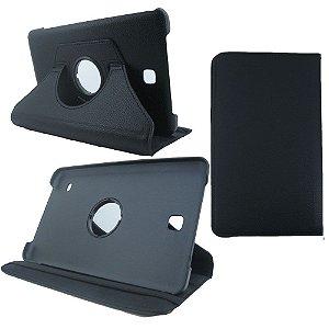 Capa Giratória Couro 8.0 Polegadas Tablet Samsung Galaxy Tab 4