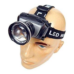 Lanterna Tática de Cabeça Police 720w 2000 Lumens Led Cree Q5