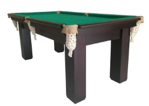 Mesa de Bilhar modelo 01Angelin - Cor Imbuia - 2,30 x 1,30 m