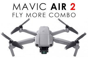 Drone DJI Mavic Air 2 - Fly More Combo (BR-ADSB)