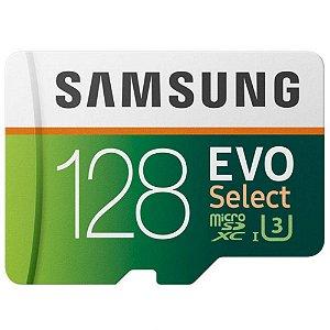 MicroSD Cartão de Memória - 128GB - Samsung