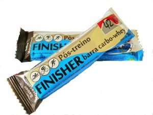 FINISHER BARRA DE CARBOIDRATOS E PROTEÍNAS 30G