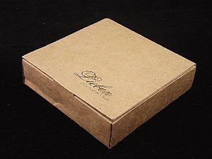 Caixa Premium livro com 04 bombons maciços