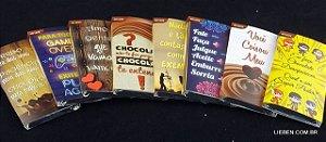 Tablete Chocomics 25g Ao Leite ( Caixa com 48 und  Sortidos)