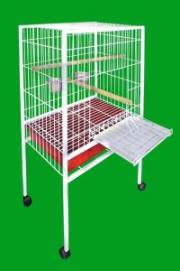 Viveiro para Papagaio Duplex Tubolar