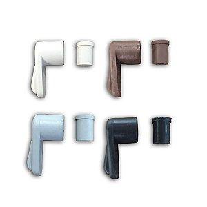 Trava Color Fixadora p/ Tela Mosquiteiro - Pcte 100 Unidades