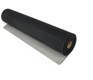 Tela de Fibra de Vidro em PVC - Preta