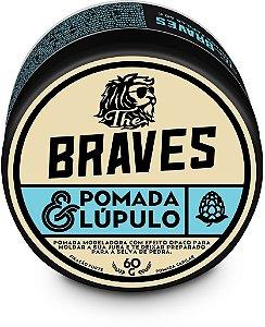 Pomada para Cabelo e Barba com Lúpulo The Braves 40g