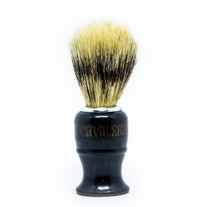 Pincel para Barbear Cerdas Sintética Cavalera
