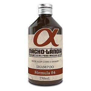 Shampoo para Barba e Cabelo - Fórmula 84 Macho-Lândia 250ml