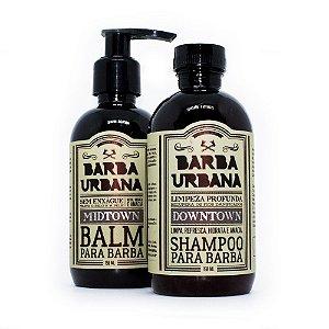 Kit de Barba com Shampoo + Balm da Barba Urbana
