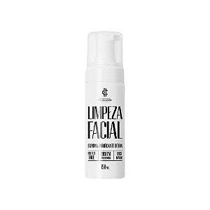 Espuma de Limpeza Facial Detox - Cia da Barba - 150ml