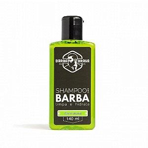 Shampoo para Barba Citrus Woods Barba Brava 140ml