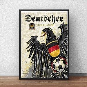 Placa Decorativa Alemanha