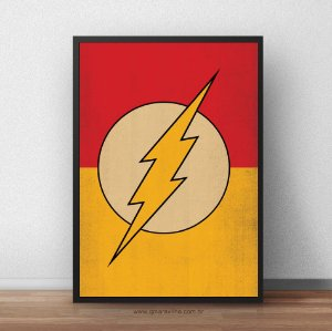 Placa Decorativa The Flash