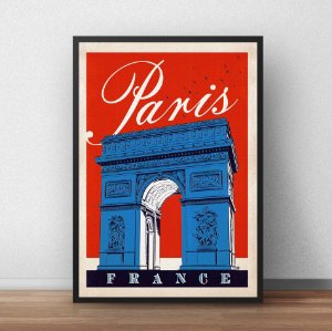 Placa Decorativa Paris
