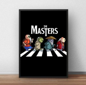 Placa Decorativa The Masters