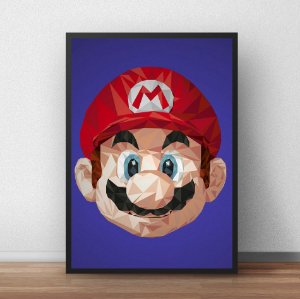 Placa Decorativa Mario Bros 2